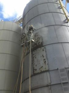 Storage tank Sand Blasting and Painting