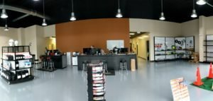 Commercial Showroom Repaint for Rebranding in Tallahasse FL